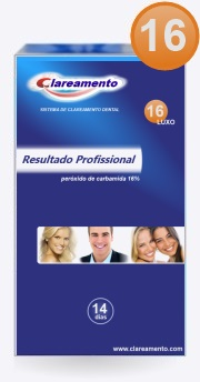 Kit Clareamento Dental 16 - Luxo