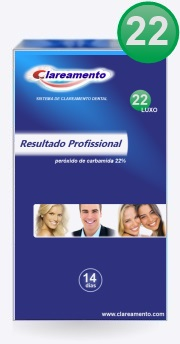 Kit Clareamento Dental 22 - Luxo