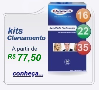 kit clareamento dental